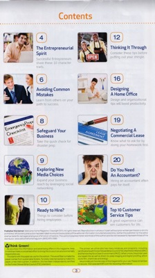 ATT SBG Table of contents