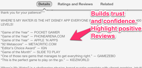 Mobile app description recommendation 5